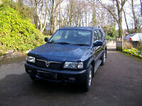 Sold - Vauxhall Frontera with legendary Isuzu chain 2.2DTi diesel engine 2003