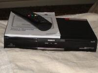 Humax Freesat HD digital satellite receiver + manual + remote
