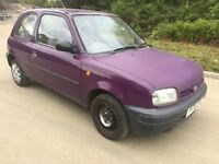 AUTOMATIC NISSAN MICRA SPARES OR REPAIRS LONG MOT STARTS AND DRIVES £285 O-N-O