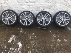 18' alloy wheels