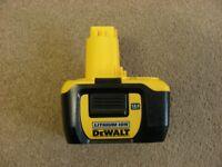 Genuine RARE Dewalt DE9140 Lithium Ion 14.4V RARE Li-Ion Battery 2Ah 2.0Ah 14.4 Volt for Drill etc.