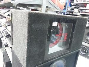 Cerwin Vega Single Subwoofer In Box (#41283) We Sell Used Car Audio. Get a Deal at Busters Pawn