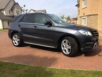 Mercedes (M Class) ML250 AMG Sport Bluetec Auto (Diesel) - 1st Registered 03/01/2014