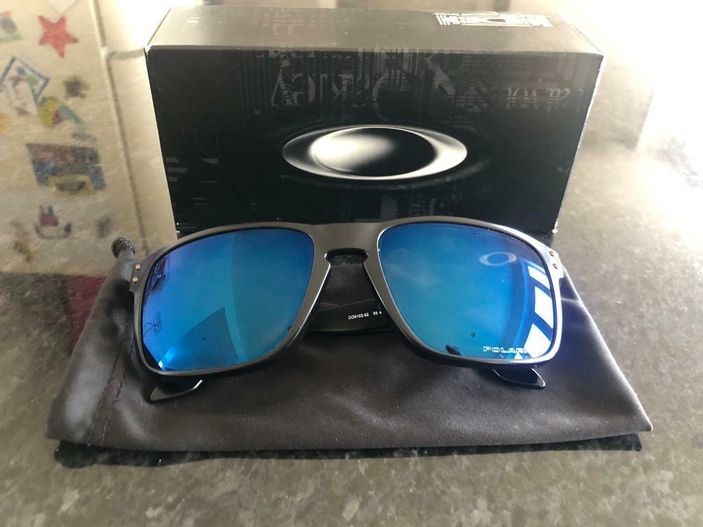 Lens SunglassesIn Ice Oo9102 Gumtree FerryhillCounty Durham Oakley 52 Iridium Holbrook Polarized dCxWorBe