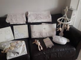 Mamas and Papas Millie and Boris nursery bedding set