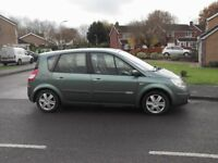 RENAULT SCENIC DYNAMIQUE 1.5 DCI 80 TOP OF THE RANGE 53 REG