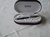 Autograph Sapphire Rollerball Pen