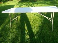 Tables folding sale or rent