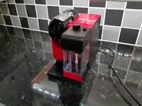 Nespresso Lattissima in red