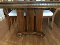Dining Table Extendable (with chairs)