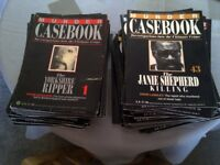 Murder Casebook Collection For Sale