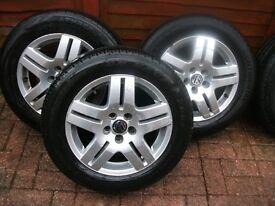 Genuine Vw alloys wheels