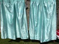 Duck Egg Blue Curtains