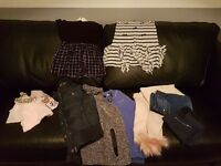 Girls age 9-10 bundle river island abercrombie