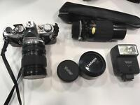 SLR camera, lenses and accessories