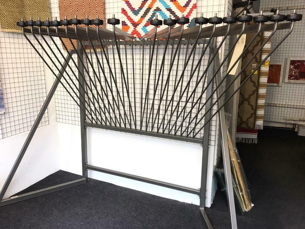 3x Rug Display Swing Arm Stands Super In Great Yarmouth Norfolk Gumtree