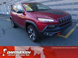 2016 Jeep Cherokee TRAILHAWK/HTD SEATS/BACK UP CAMERA/4X4