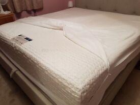 Superking memory foam sprung mattress