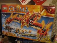 LEGO CHIMA 70146 FLYING PHOENIX FIRE TEMPLE