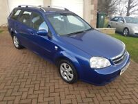 Chevrolet Lacetti Estate 1.8 Auto Low Mileage