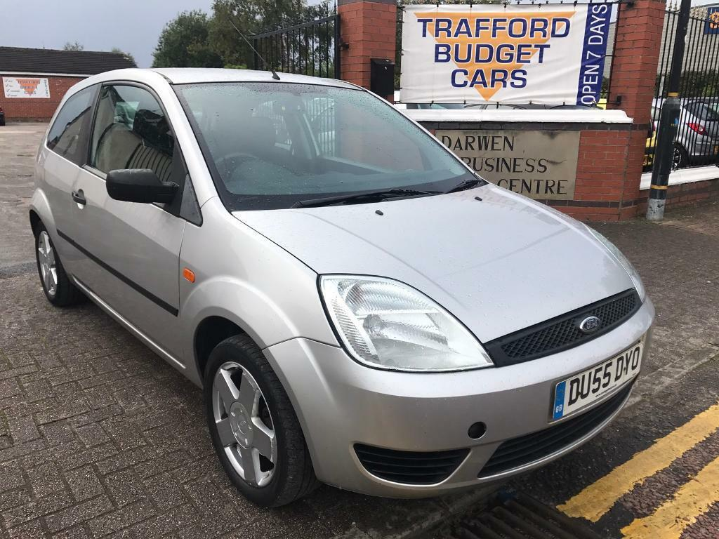 ford fiesta 2005 1 2 12 months mot clean tidy car no issues drive home today in trafford. Black Bedroom Furniture Sets. Home Design Ideas