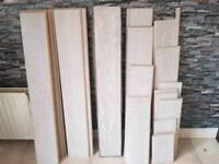 white oak flooring ( light gray )