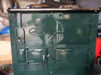 Converted AGA oil RACING GREEN IMACULATE