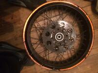 Pulse adrenaline rear wheel