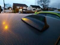 Carbon 4d wrap bonnet or roof