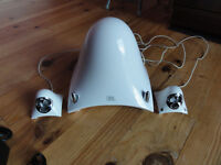 JBL White creature speakers in lovely condition and working Order