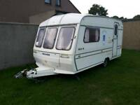 FOR SALE 2 berth caravan 1994 with awning