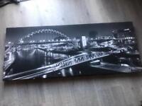 Tyne Bridge Canvas