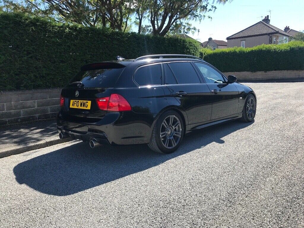 BMW 3 SERIES, 320D, M SPORT, TOURING, 157k FSH, 12 MONTHS MOT, TIMING CHAIN  REPLACED   in Keighley, West Yorkshire   Gumtree