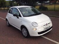 (60) Fiat 500 pop 1.2 stop/start , finance from £30 a week , mot - August 2017 , ,corsa,clio,207