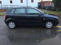 VOLKSWAGEN POLO 1.4 Twist 5dr (black) 2005