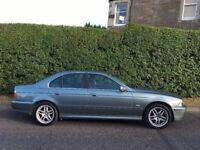 **BMW E39 525i AUTOMATIC SAT NAV LONG MOT