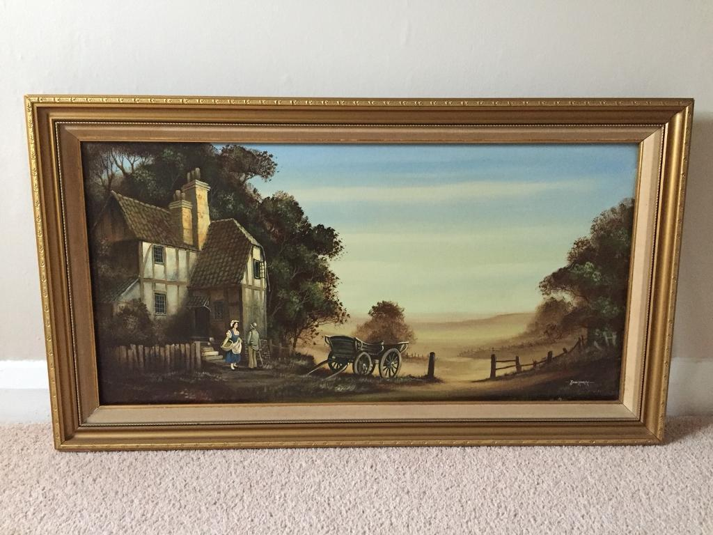 *ORIGINAL* Oil Painting By JOHN HOOLEY