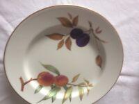 Royal Worcester porcelain - evesham design