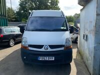 2007 Renault Master 35DCI 120 MWB 2.5 Diesel White BREAKING FOR SPARES