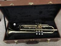 Cranes brass trumpet