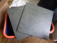 300mm x 300mm square black ceramic floor tiles 18 number of