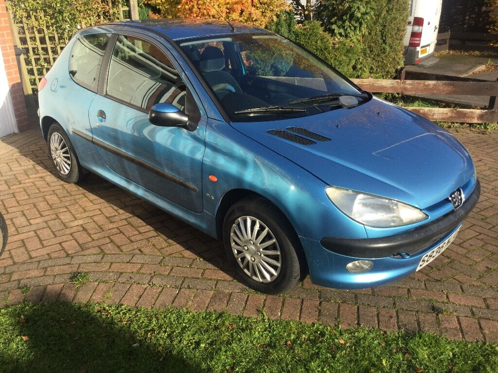 peugeot 206 glx 1 4 petrol in coalville leicestershire gumtree. Black Bedroom Furniture Sets. Home Design Ideas