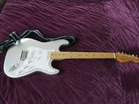 Partscaster electric guitar