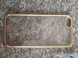 Iphone 5/5s Gold rim cover