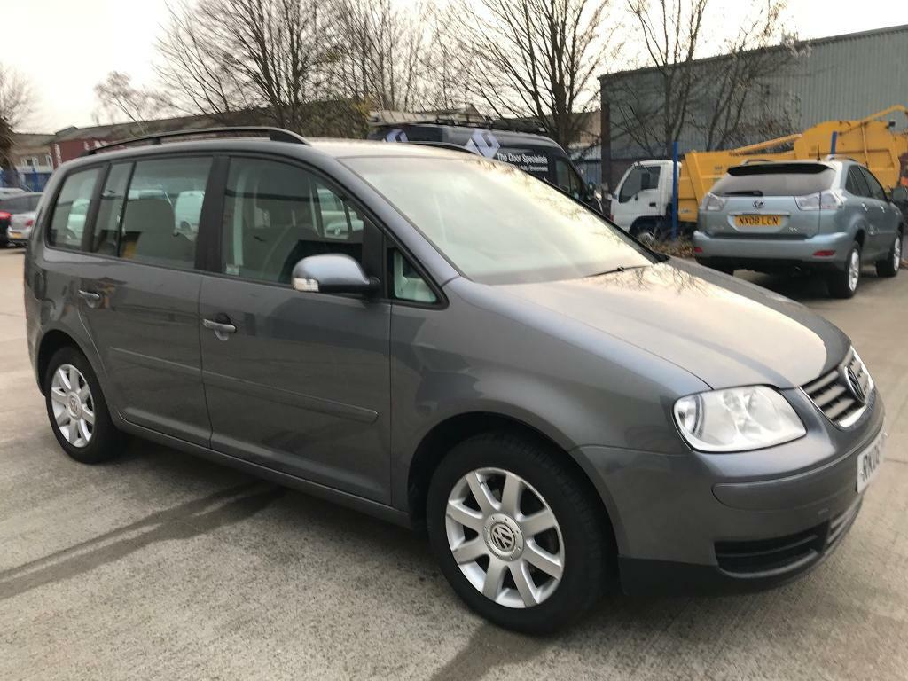 vw touran 2006 1 9 tdi se diesel one previous owner new service in speedwell bristol. Black Bedroom Furniture Sets. Home Design Ideas