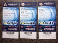SRI LANKA VS SOUTH AFRICA @ OVAL LONDON - 03rd June