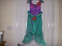 Disney Ariel Mermaid Dressing up costume Age 6-7yrs