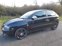 56 REG SEAT IBIZA 1.9 TDI FR 157K F/S/H 14 STAMPS CAM-BELT @92K & 140K V/G/C STILL DRIVES PERFECT