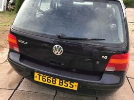 Automatic 1.6 Golf. Spares or repairs.