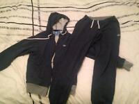 Adidas Tracksuit top size M pants size small